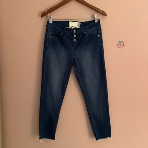Like new altard state cropped jeans